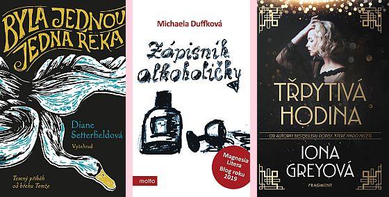 knižní novinky vydavatelství Albatros media