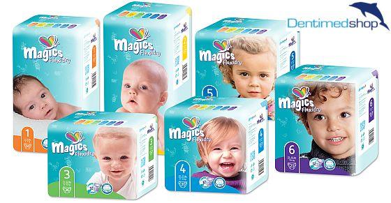 dětské pleny MAGICS