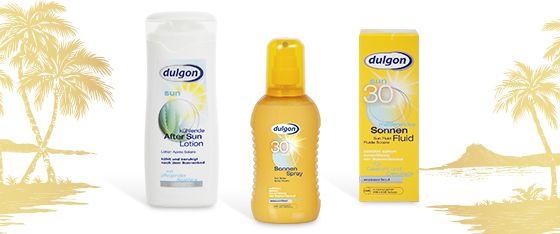 Dulgon - kosmetika na opalování