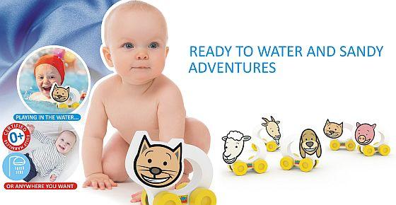 hračky nejen do vody Millaminis