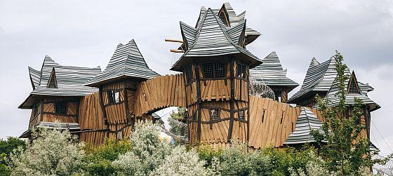 hrad v parku Mirakulum