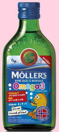 rybí olej Möller´s Omega 3