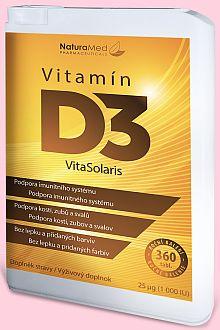 Vitamín D3 Vita Solaris