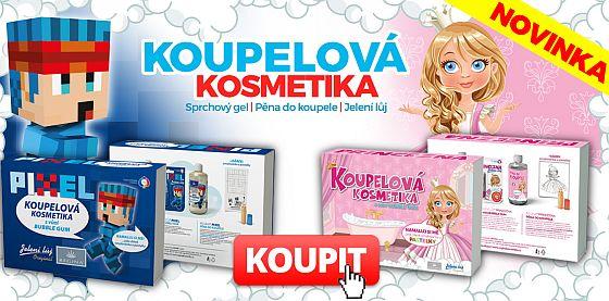 kosmetika pro děti - Princezna a Pixel