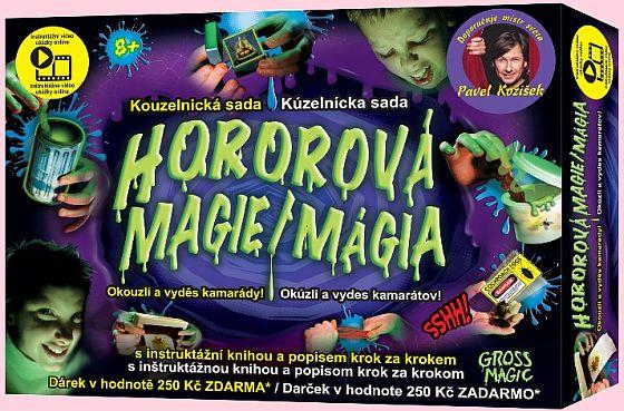 Kouzelnická sada Hororová magie Pavla Kožíška