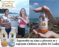 produkty z kokosu ze Srí Lanky