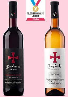 výběrová vína Templářských sklepů