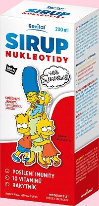 nový sirup The Simpsons nukleotidy
