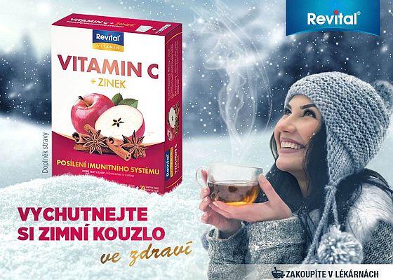Revital Vitamin C + zinek