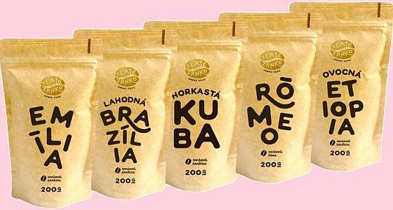 5 nejprodávanějších káv