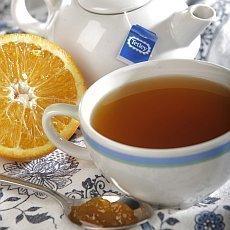 Čaj s marmeládou
