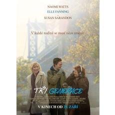 Nový film Tři generace v našich kinech