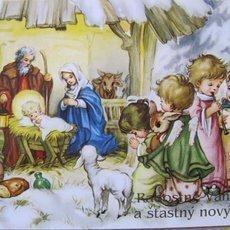 vánoční přání  - historie