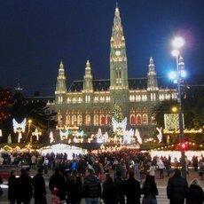vánoční trhy - Vídeň