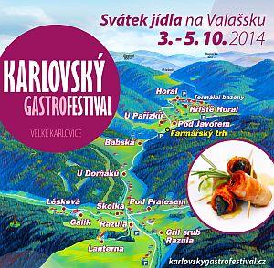 Karlovský gasrofestival 2014
