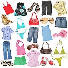 různé prádlo