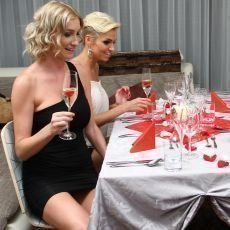 VIP Prostřeno 2.10. 2012 - Dominika Mesarošová