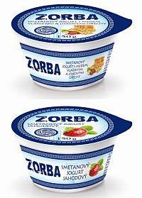 výhra - jogurty ZORBA