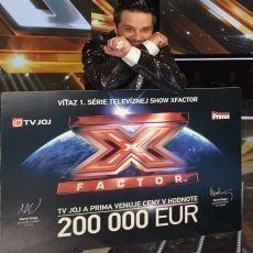 Vítězem X Factoru 2014 je Peter Bažík